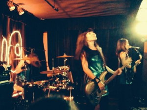 Shonen Knife live at Divan Orange, photo by Krista Muir.